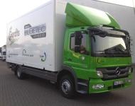 Hybrid LKW im Einsatz