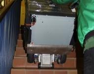 Transport mit Treppensteigereinsatz